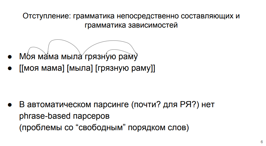 Изучаем синтаксические парсеры для русского языка - 3