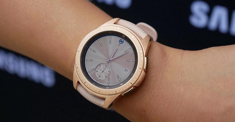Представлены умные часы Samsung Galaxy Watch
