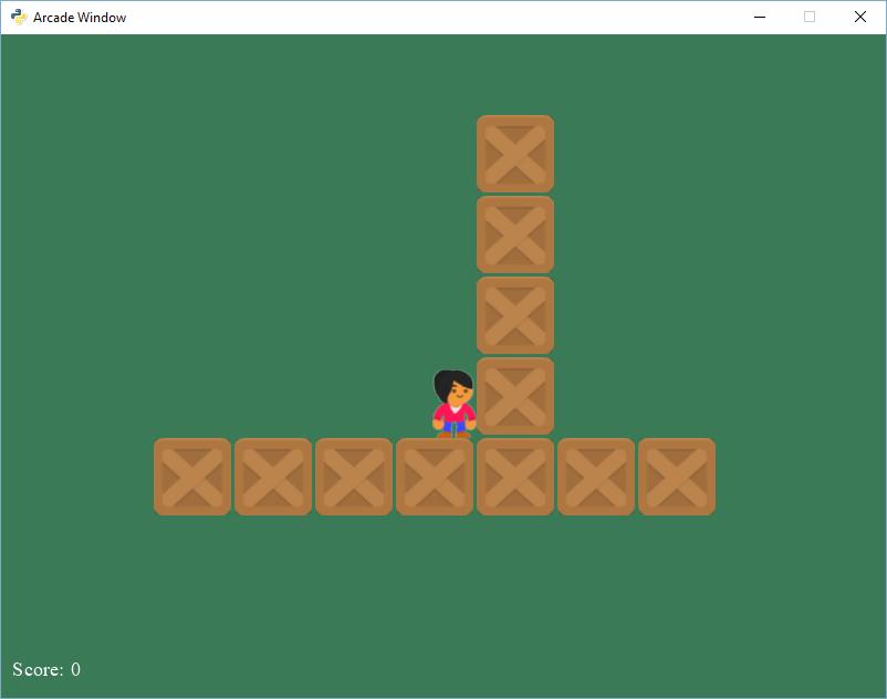 Создаем 2D игру на Python с библиотекой Arcade - 4