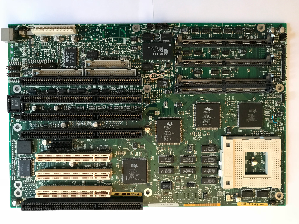 32-битные процессоры Intel: от 3 до 4 — Бесполезный пятничный лонгрид - 6