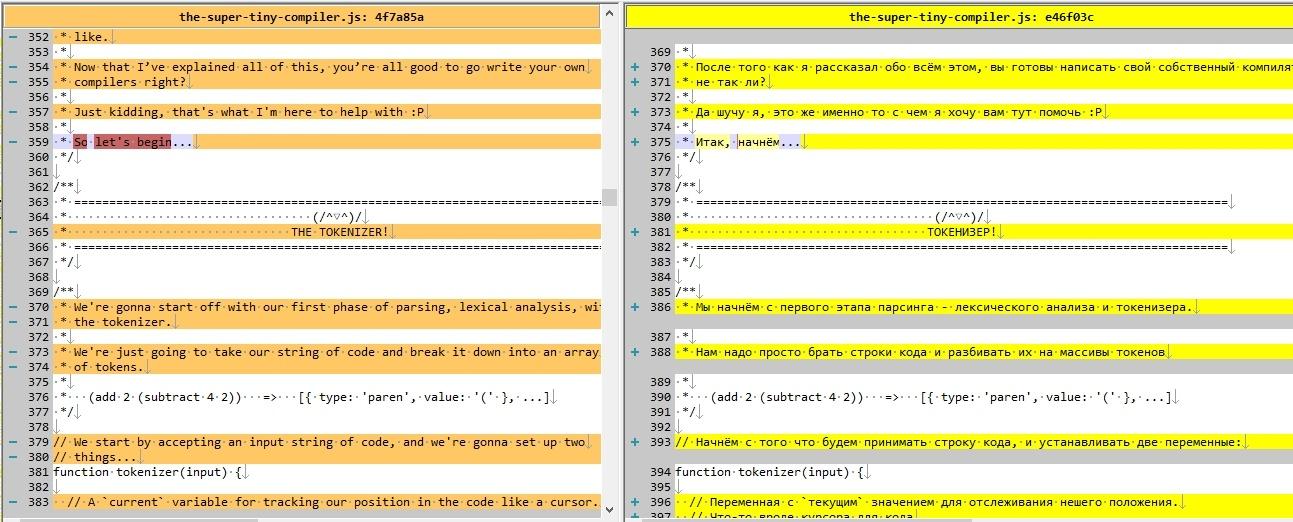 The Super Tiny Compiler — теперь на русском - 3