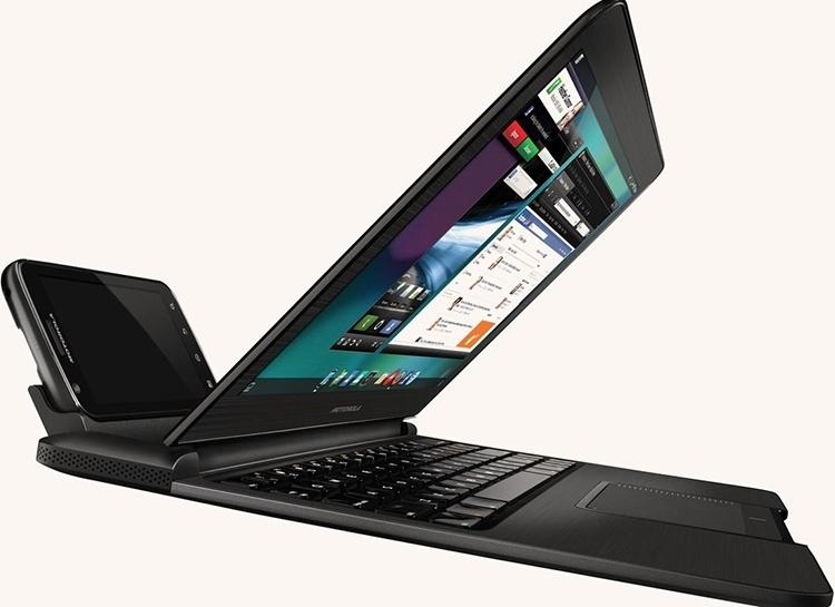 Док-станция в формате ноутбука Motorola Atrix Lapdock может вернуться