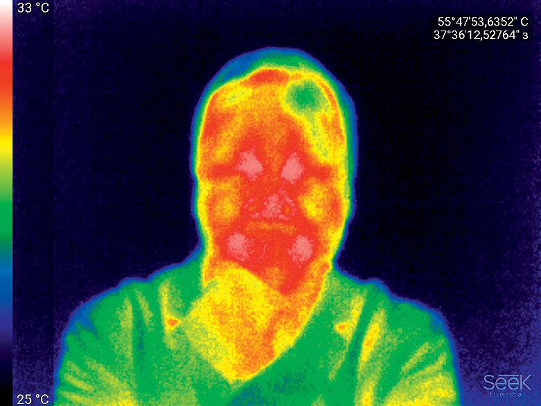Горячие картинки: тепловизор для смартфона