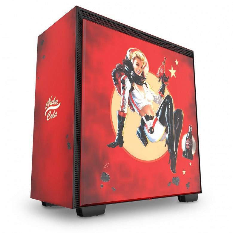 Компьютерный корпус NZXT H700 Nuka-Cola понравится любителям игры Fallout
