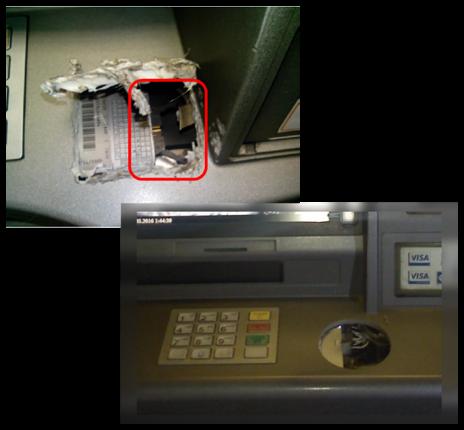 Низкоуровневый взлом банкоматов NCR - 9