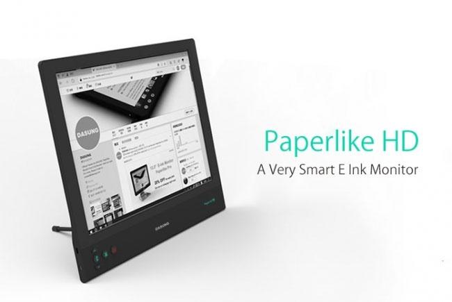Представлен первый компьютерный монитор на основе экрана E-Ink