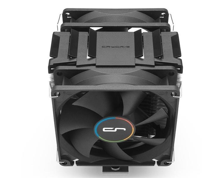 Процессорные кулеры Cryorig H7 Plus и M9 Plus оборудованы двумя вентиляторами
