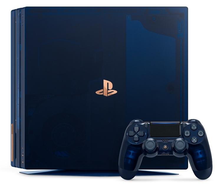 Прозрачная консоль ограниченной серии 500 Million Limited Edition PS4 Pro оценена в 0