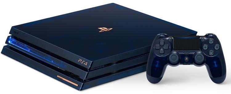 Прозрачная консоль ограниченной серии 500 Million Limited Edition PS4 Pro оценена в $500