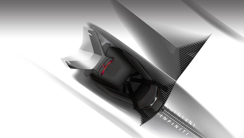 Infiniti показала изображение концептуального электрического родстера