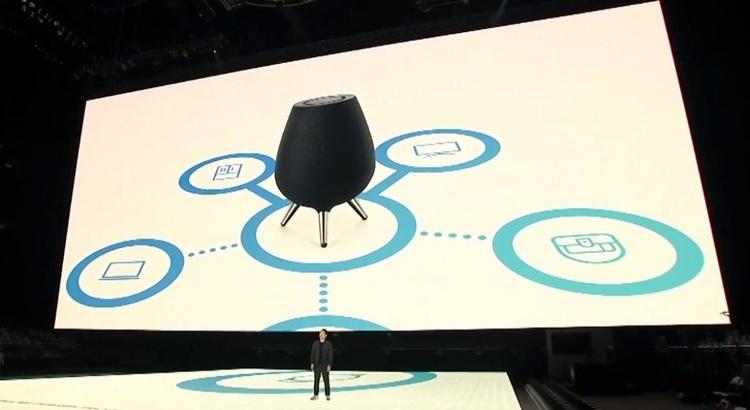 Samsung Galaxy Home: смарт-динамик с голосовым ассистентом Bixby