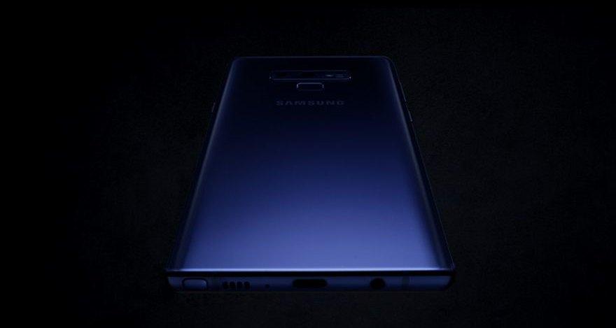 Samsung презентовала Galaxy Note9