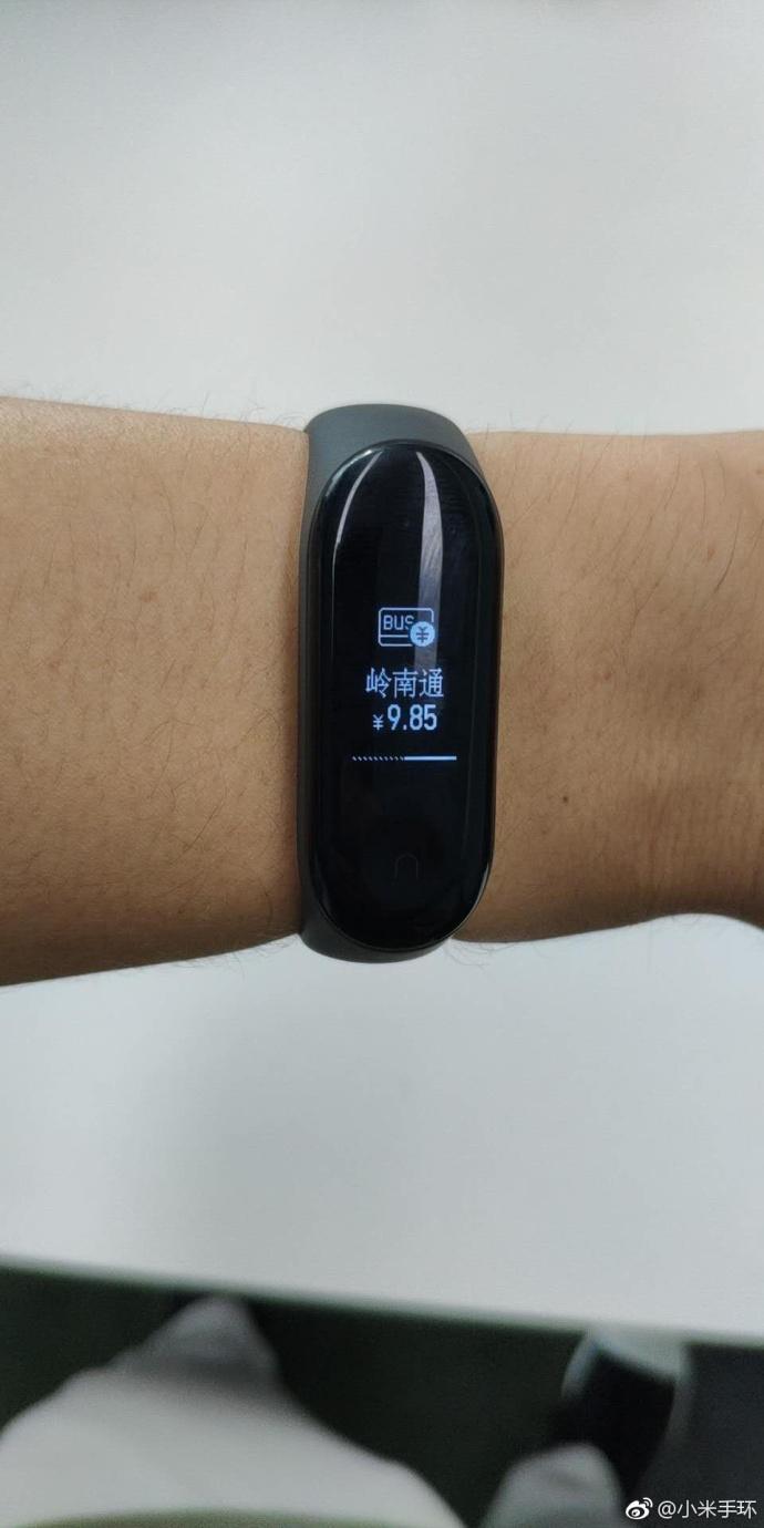 Браслет Xiaomi Mi Band 3 в модулем NFC успешно протестирован в полевых условиях и выйдет в сентябре