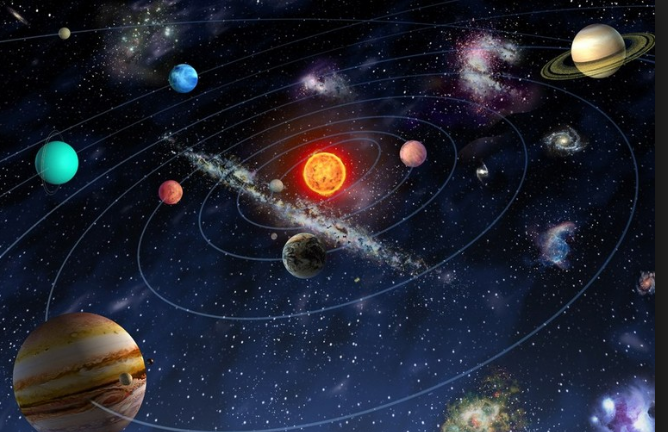 Построение орбит небесных тел средствами Python - 1