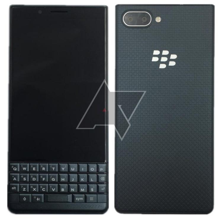 Смартфон BlackBerry KEY2 LE на платформе Snapdragon 636 показал лицо