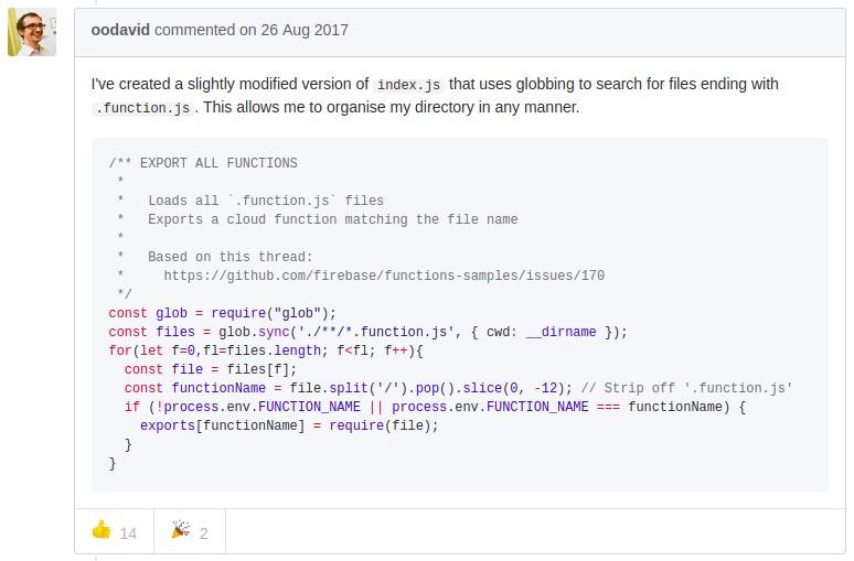 Апгрейд организации (Google)Firebase Cloud Functions - 1