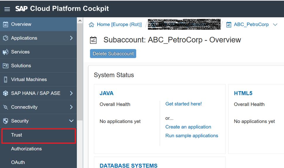 Разработка мультитенантных приложений на SAP Cloud Platform в среде Neo, часть 2: авторизация и аутентификация - 2