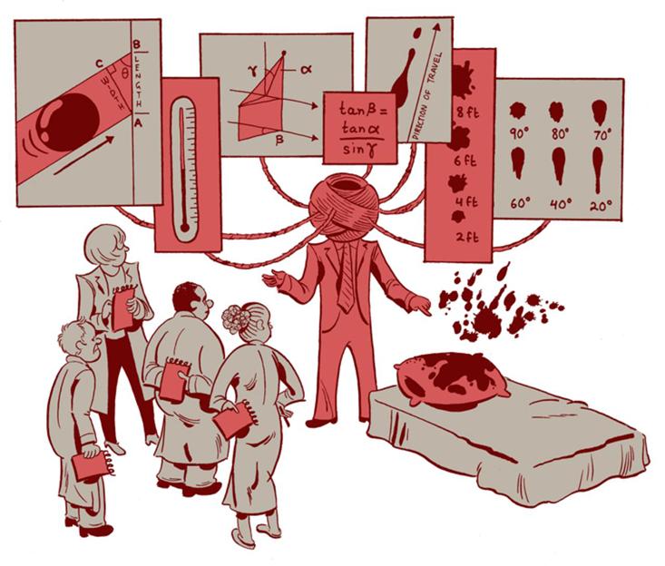Что расскажут капли крови: тригонометрия преступлений - 3