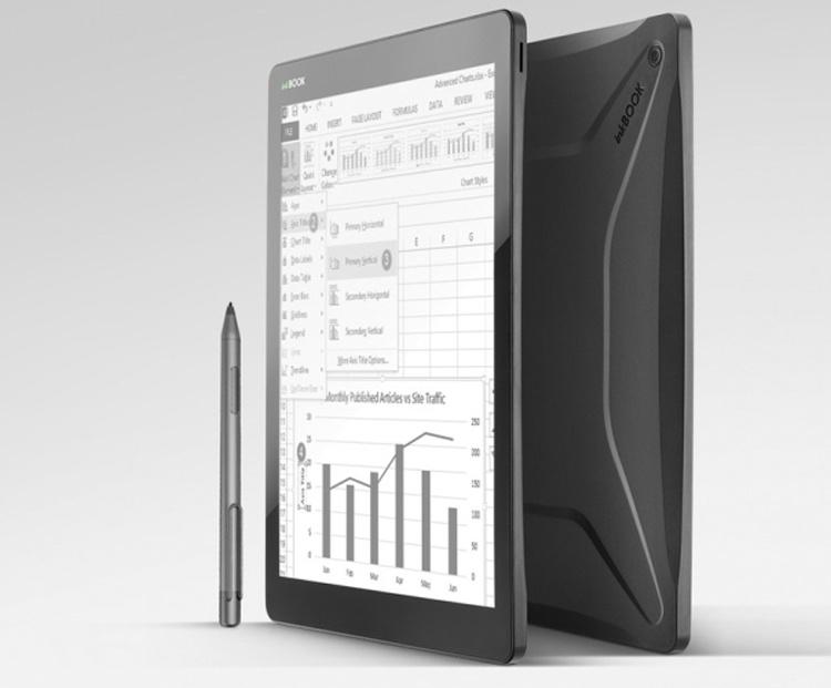 InkBook Infinity: ридер с большим экраном и сенсорным управлением