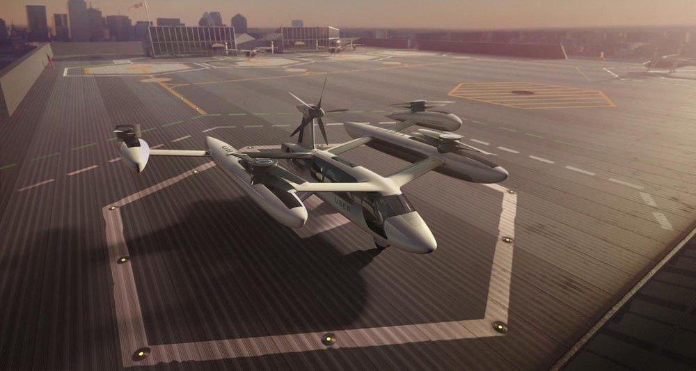 Uber привлекла к разработке аэротакси Техасский университет в Остине