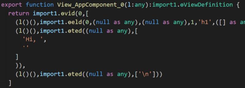 Исследование Ivy — нового компилятора Angular - 2
