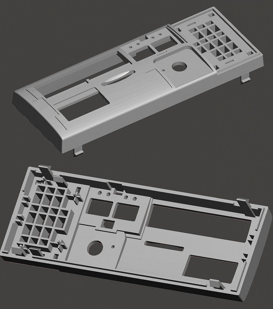 Печать на 3D принтере сложных деталей из пластиков ABS и PLA с большим количеством поддержки - 1