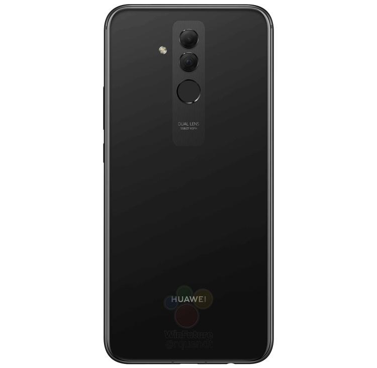 Смартфон Huawei Mate 20 Lite показался на пресс-изображениях