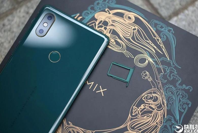 Смартфоны Xiaomi Mi Nix 2S Emerald Green уже распроданы