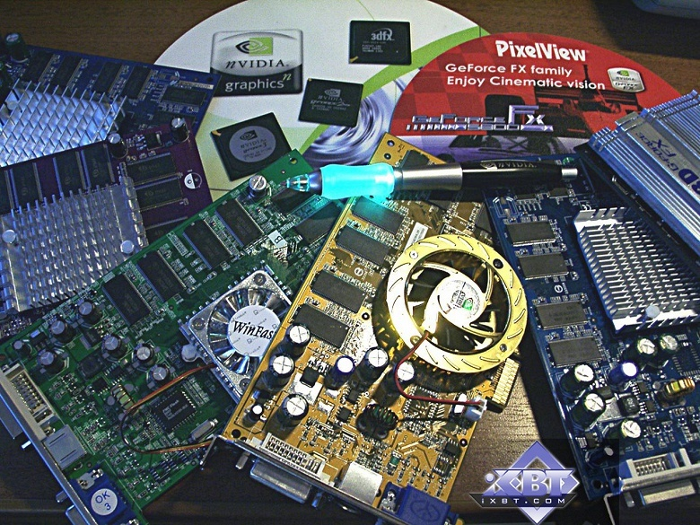 Galaxy предлагает получить видеокарту Nvidia нового поколения в обмен на видеокарту 2003 года