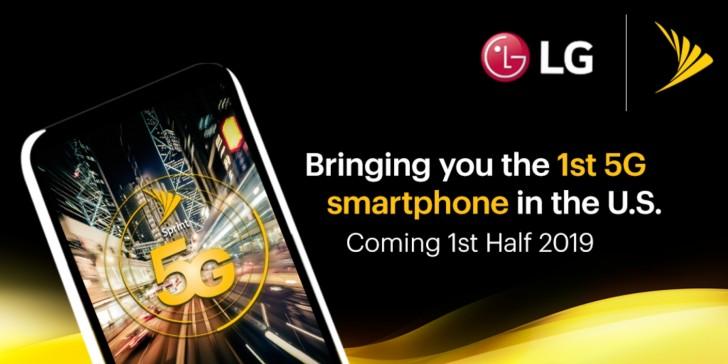 LG выпустит смартфон с поддержкой 5G в первой половине 2019