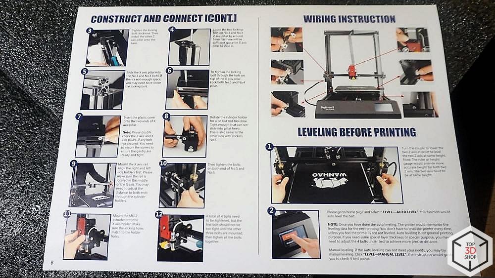 Обзор доступного большого 3D-принтера WANHAO D9 - 12