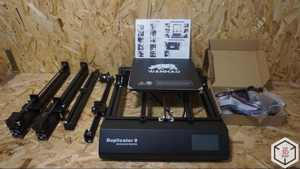 Обзор доступного большого 3D-принтера WANHAO D9 - 16
