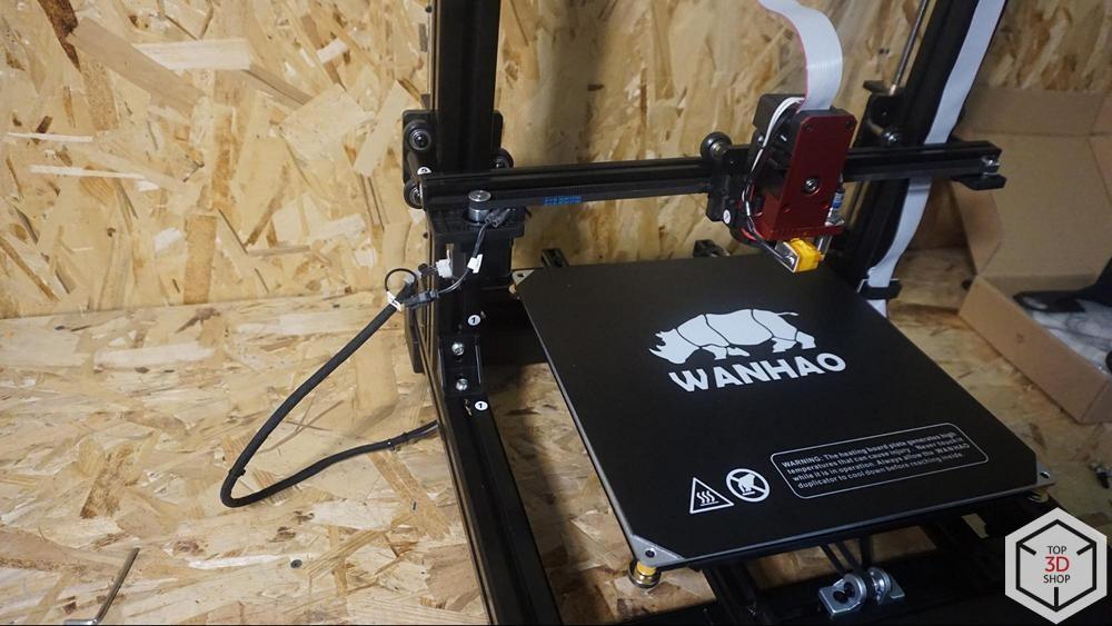 Обзор доступного большого 3D-принтера WANHAO D9 - 24