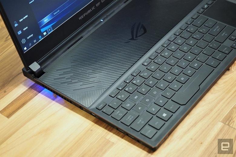 Asus ROG Zephyrus S — игровой ноутбук с шестиядерным CPU, видеокартой GeForce GTX 1070 и корпусом толщиной 15,75 мм