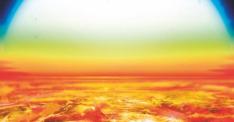 У самой горячей планеты оказалось железное небо