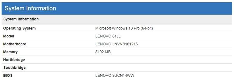 В Сети замечено загадочное устройство Lenovo на платформе Snapdragon 850