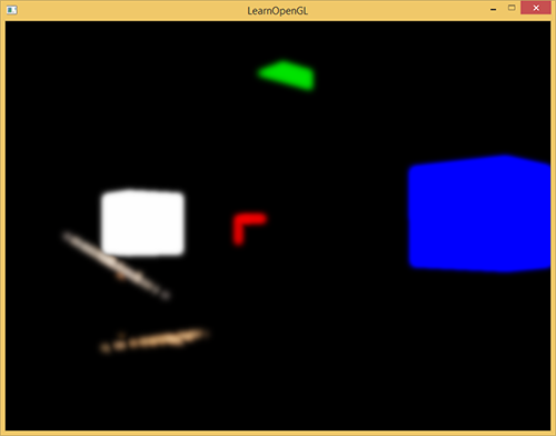 Learn OpenGL. Урок 5.8 – Bloom - 11