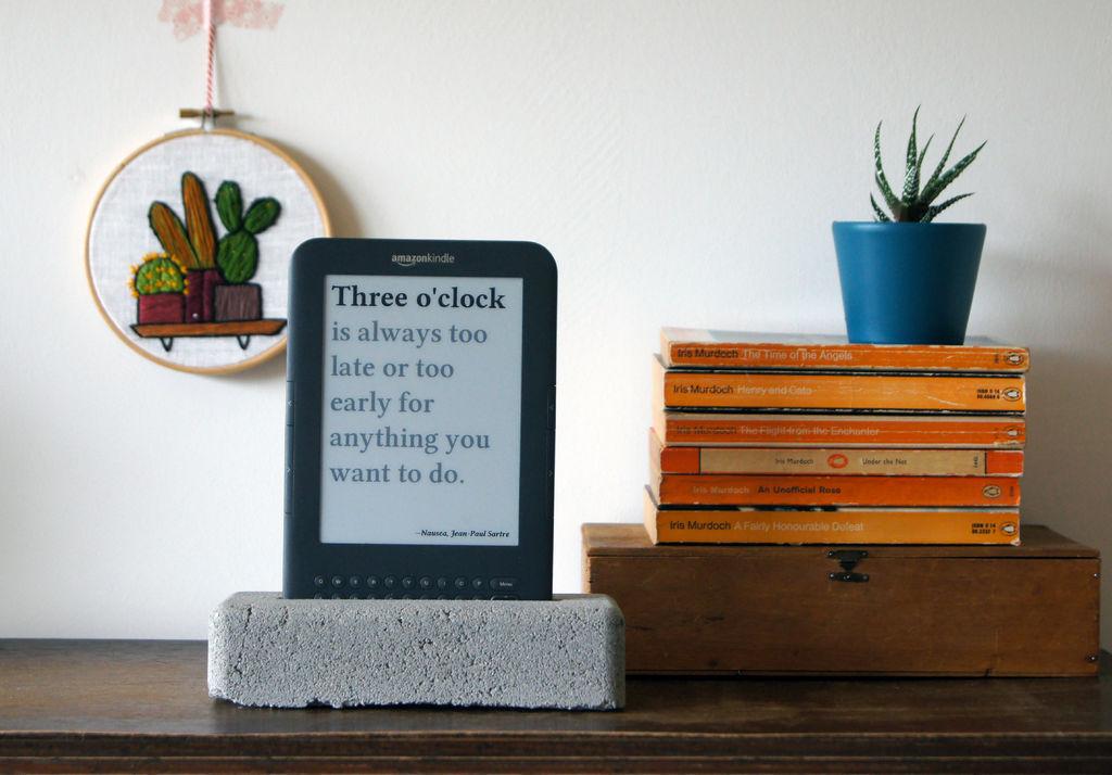 Делаем литературные часы на основе электронной книги - 12