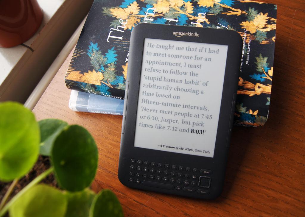 Делаем литературные часы на основе электронной книги - 5