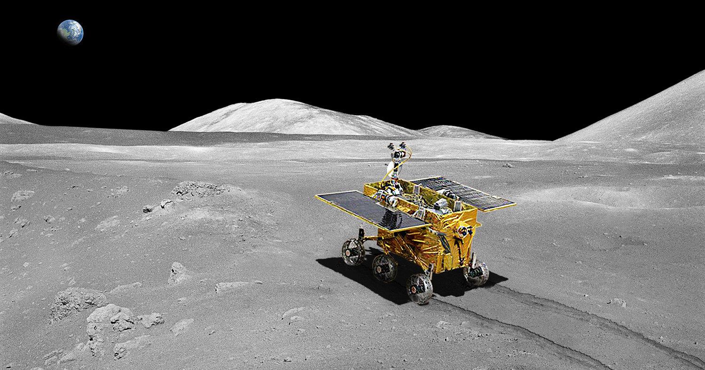 Китайский луноход изучит обратную сторону Луны