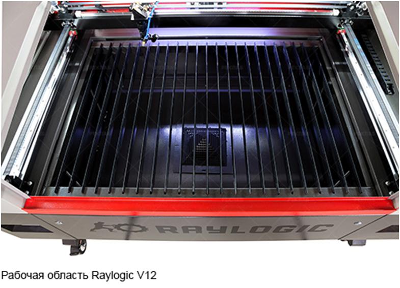 Сравнение станков лазерной резки Raylogic 11G и Raylogic V12 - 16