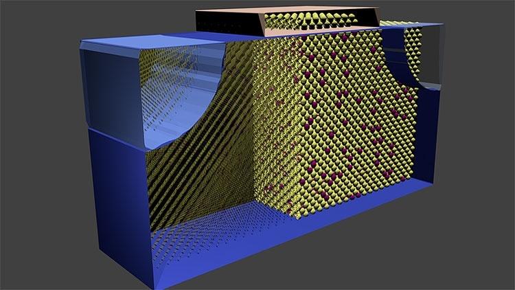 Для ускорения работы транзистора учёные встроили в него лазер