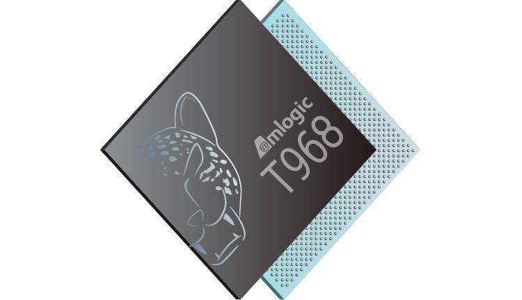 Процессор Amlogic T968 рассчитан на «умные» телевизоры и смарт-проекторы