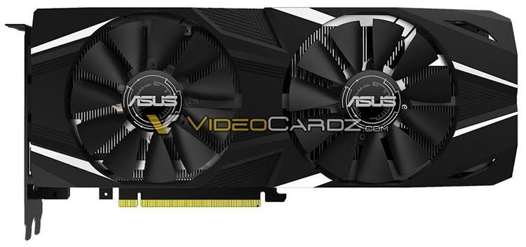 Видеокарты ASUS GeForce RTX 2080/2080 Ti выделяются строгим дизайном