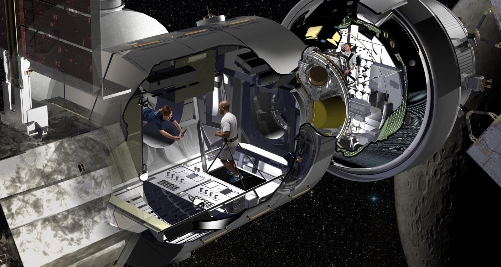 Lockheed Martin показала жилой модуль для космических миссий
