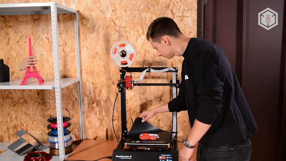 Обзор 3D-принтера WANHAO D9-300: видео - 15