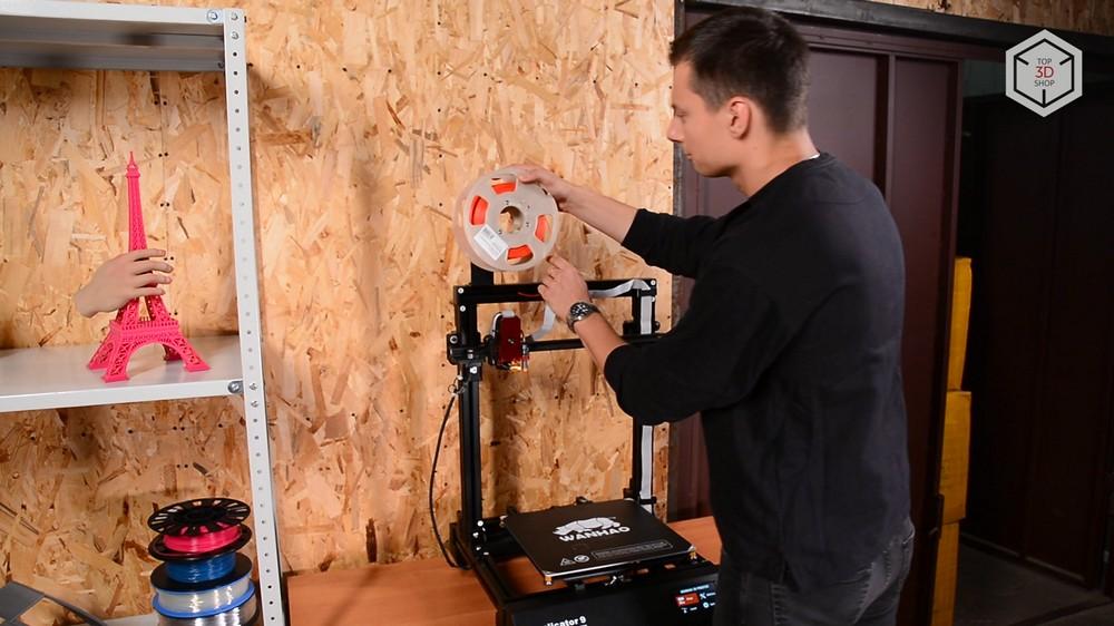 Обзор 3D-принтера WANHAO D9-300: видео - 3