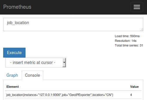 Пишем GeoIP exporter для Prometheus с визуализаций в Grafana за 15 минут - 2