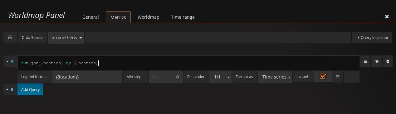 Пишем GeoIP exporter для Prometheus с визуализаций в Grafana за 15 минут - 3
