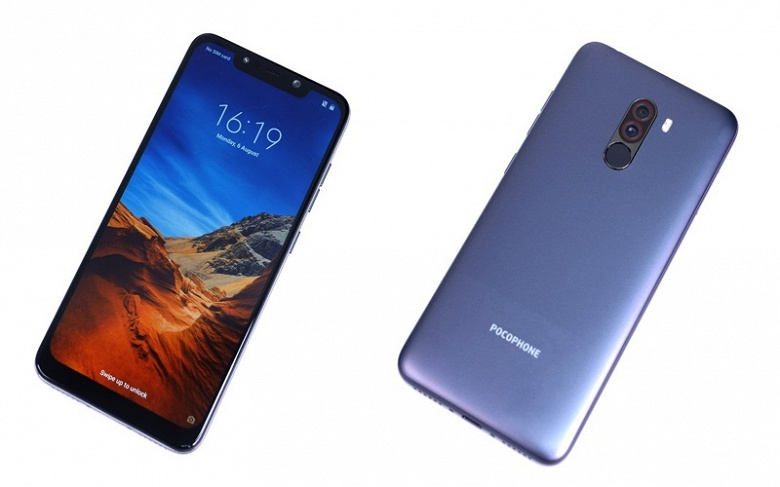 Xiaomi Pocophone F1 действительно окажется самым доступным смартфоном на SoC Qualcomm Snaodragon 845